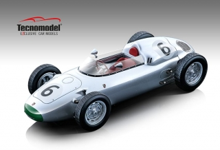 Porsche 718 F2 #6 Solitude GP 1960 Graham Hill 1:18 Tecnomodel