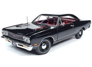 Plymouth GTX Hardtop MCACN 1969 X9 black velvet 1:18 Auto World