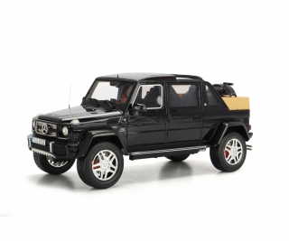Mercedes-Maybach G650 Landaulet blue metallic 1:18 Schuco