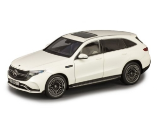 Mercedes-Benz EQC 400 4Matic N293 2019 designo diamant white bright 1:18 NZG