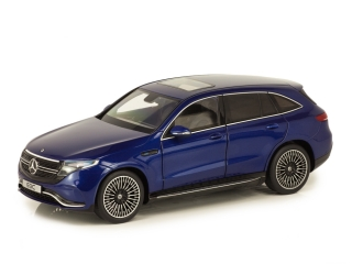 Mercedes-Benz EQC 400 4Matic N293 2019 brilliant blue 1:18 NZG