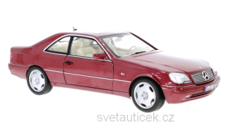 Mercedes-Benz CL 600 C140 1996 red 1:18 Norev