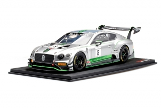 Bentley Continental GT3 #8 Blancpain GT 2018 Abril/ Soulet/Soucek 1:18 TopSpeed Models