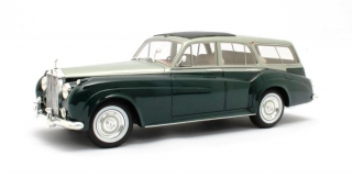 Rolls Royce Silver Cloud Estate by Harold Radford 1959 green 1:18 Cult Scale Models