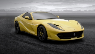 Ferrari 812 GTS Giallo Tristrato 1:18 MR Collection