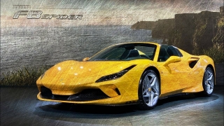 Ferrari F8 Spider Giallo Modena DS 4305 1:18 MR Collection