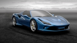 Ferrari F8 Spider Blu Corsa 1:18 MR Collection