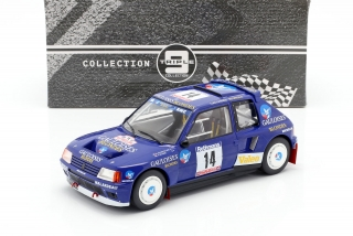 Peugeot 205 T16 #14 B.Darniche/A.Mahe Tour de Corse 1985 1:18 Triple9 Collection