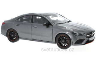 Mercedes-Benz CLA Coupe C118 2019 grey 1:18 Z-Models