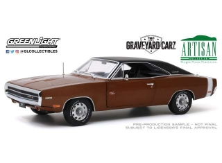 Dodge Charger R/T *Graveyard Carz* 1970 dark burnt orange 1:18 Greenlight