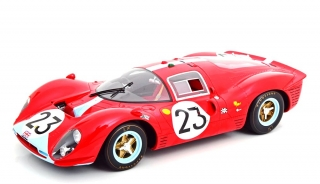 Ferrari 412 P #23 Attwood/ Courage Le Mans 1967 1:12 CMR