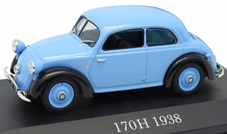 Mercedes Benz 170H 1936 blue, black 1:43 Altaya