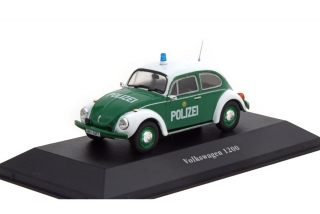 Volkswagen Kever 1200 Deutschland - Police Car Collection 1977 1:43 Altaya