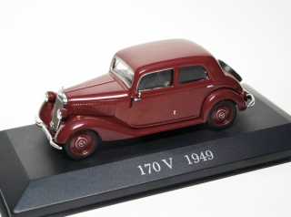 Mercedes-Benz 170 V (W136) 1949 brown 1:43 Altaya