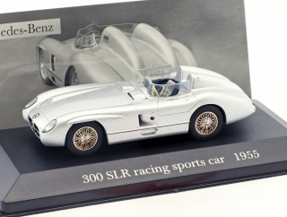 Mercedes-Benz 300 SLR Racing Sports Car (W 196 S) 1955 silver 1:43 Altay