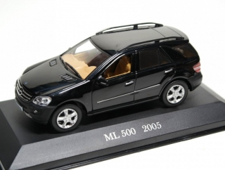Mercedes-Benz ML 500 (W164) 2005 black 1:43 Altaya