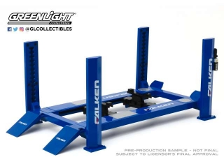 4-Post Lift *Falken Tires* blue 1:18 GreenLight