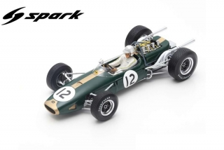 Brabham BT19 #12 Jack Brabham Winner French GP 1966 1:18 Spark