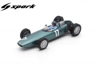 BRM P57 #17 Graham HillWinner Dutch GP1962 1:18 Spark