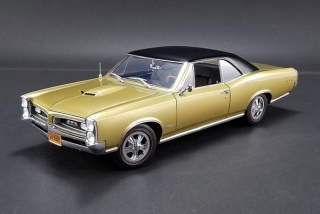Pontiac GTO Hurst Equipped tiger gold/black vinyl roof 1:18 Acme Diecast