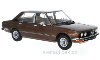 BMW 5er E12 1973 dark brown metallic 1:18 MCG Modelcar Group