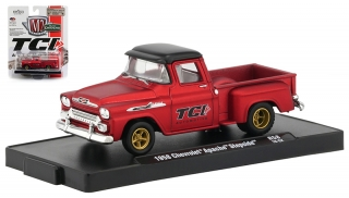 Chevrolet Apache Step Side *TCI Automotive* 1958 red 1:64 M2 Machines