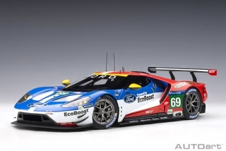 Ford USA GT 3.5l Turbo V6 #69 R.Briscoe/S.Dixon/R.Westbrook 3rd 24h Le Mans 2016 1:18 AUTOart