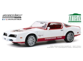Pontiac Firebird *Macho Trans Am* #11 of 204 by Mecham Design 1978 white/red 1:18 Greenlight