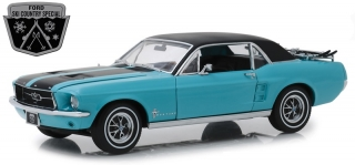 Ford Mustang *Ski Country Special* winter park 1967 turguoise 1:18 Greenlight
