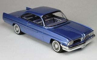 Pontiac Catalina 1961 blue metallic 1:43 Goldvarg Collection