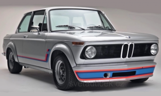 BMW 2002 Turbo 1973 silver 1:18 MCG Modelcar Group
