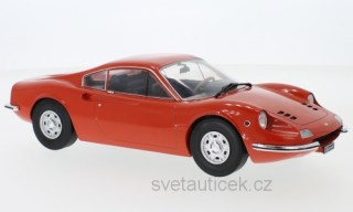 Ferrari Dino 246 GT 1969 light red 1:18 MCG Modelcar Group