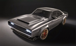 Dodge Super Charger Concept De Grigio grey metallic 1:18 GT Spirit