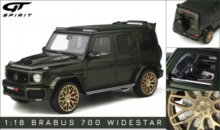 Brabus 700 Widestar olive green metallic 1:18 GT Spirit
