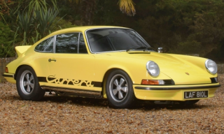 Porsche 911 2.7 RS 1963 yellow 1:8 Premium X