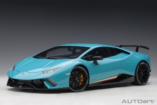 Lamborghini Huracan LP640-4 Performante 2017 solid blue 1:12 AUTOArt
