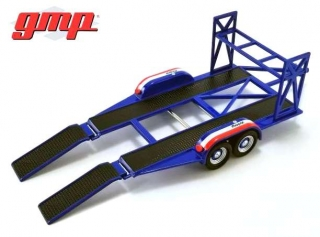 Tandem Car Trailer with Tire Rack MOPAR 1:43 G.M.P.