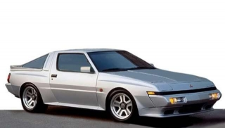 Mitsubishi Starion 2600 GSR-VR 16inch Wheels silver 1:18 Ignition Model