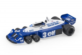 Tyrrell F1 P34/2 Ford ELF #3 R.Peterson GP 1977 1:18 GP Replicas