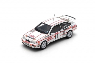 Ford Sierra RS Cosworth #10 Grundel/Harryman Monte Carlo Rally 1987 1:43 Spark
