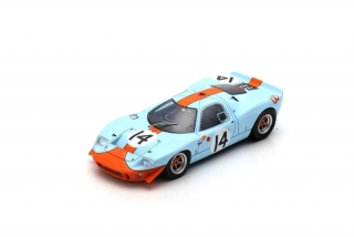 Ford Mirage M1 #14 Piper/Thompson 24H Le Mans 1967 1:43 Spark
