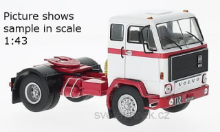 Volvo F88 1971 white/red 1:18 MCG Modelcar Group