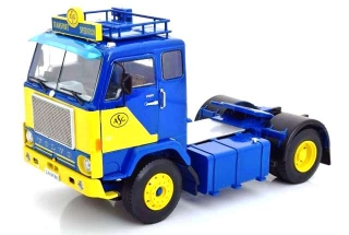 Volvo F88 ASG 1965 blue/yellow 1:18 Road Kings