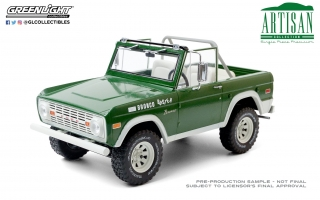 Ford Bronco Buster *Smokey and the Bandit* 1970 1:18 Greenlight