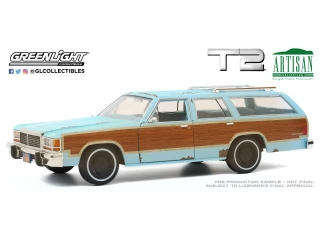 Ford LTD Country Squire *Terminator 2: Judgment Day* 1980 1:18 Greenlight