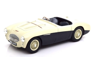 Austin Healey 100S 1955 blue/white 1:18 Cult Scale Models