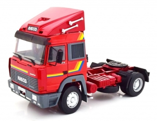 Iveco Fiat Turbostar Tractor Truck 2-Assi 1988 red 1:18 Road Kings