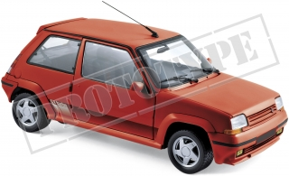 Renault Supercinq GT Turbo 1989 red 1:18 Norev