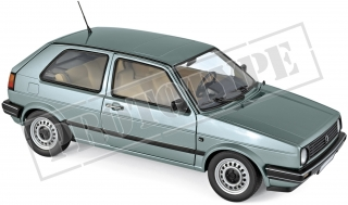 Volkswagen Golf CL 1987 light green metallic 1:18 Norev