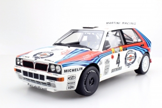 Lancia Delta HF Integrale Evolution #4 Auriol/Occelli Winner Rally Monte Carlo 1992 1:18 Top Marques